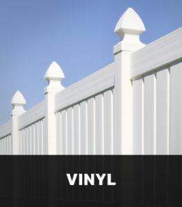 Photo of a Vinyl Fence Nanaimo BC